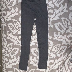 Gray Women Leggings